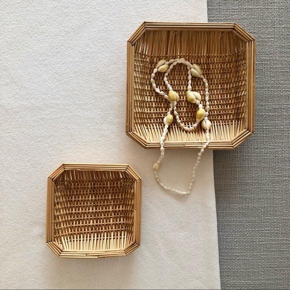 Vintage Set of Baskets